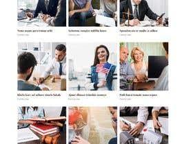 Nro 95 kilpailuun Website Design for Attorney käyttäjältä contrivance14