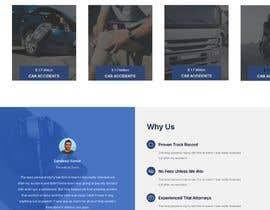Nro 104 kilpailuun Website Design for Attorney käyttäjältä bhavyabhatia136