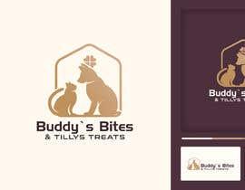 #83 for Create a logo for a dog & cat treat business by khokonpk