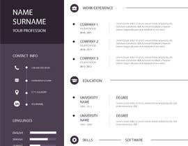 #30 para IT/ academic CV design por prony1