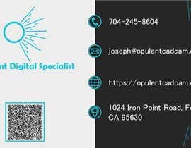 #390 for Business Card Design For Opulent af mohsinahaque0