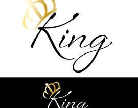 #124 for Logo for King by sharmillyborges