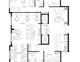 nº 20 pour Beauty Salon interior layout & furniture plan by autocad par akram78bd