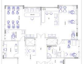 nº 4 pour Beauty Salon interior layout & furniture plan by autocad par WojtekMMC