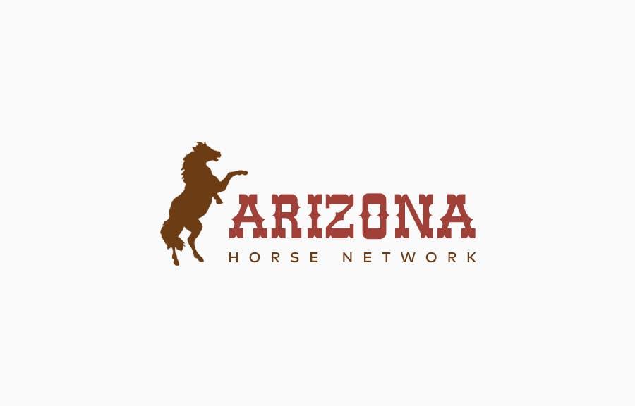Kilpailutyö #66 kilpailussa Design a Logo for Arizona Horse Network