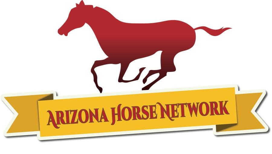 Kilpailutyö #69 kilpailussa Design a Logo for Arizona Horse Network