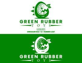 nº 227 pour Logo design for Green Rubber Toys - 16/09/2021 20:56 EDT par NajmunNahar606