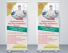 #19 for Standee design for meditation course registration by ShivamPancholi