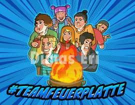 #17 для I need a Cartoon gif with 7 persons от dimaseri