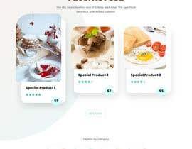 #85 cho Cupcake Company Responsive Website Template bởi Suptechy