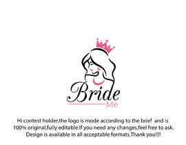 Nro 417 kilpailuun Design a logo for Bridal Shop käyttäjältä monichakrabarty