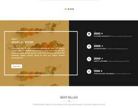 #102 for Design a website for selling rare gemstones and expensive jewelry by faroo202