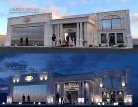Nro 16 kilpailuun Graphic rendering for the facade - Ballroom käyttäjältä ahmedzaghloul89