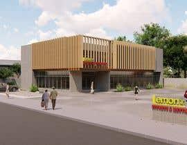 nº 15 pour Facade building - RESTAURANT par koremre