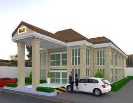 nº 24 pour Facade building - RESTAURANT par ARQFREE