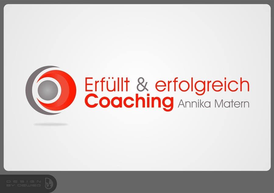 "#69 for Design a Logo ""Erfüllt & erfolgreich Coaching"" !Please read the text by Dewieq"