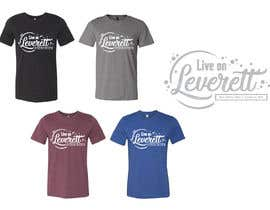 nº 547 pour Live on Leverett Tee Vintage Concert shirt design par Summerkay