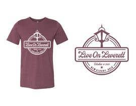 nº 558 pour Live on Leverett Tee Vintage Concert shirt design par ekkoarrifin