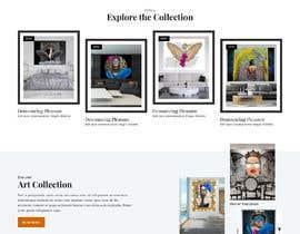 #21 for Build me Art Gallery Website af saidesigner87