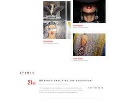 #138 for Build me Art Gallery Website af Rajarshiweb