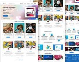 #17 for Design UX UI for NFT Marketplace af abulhasan12sa