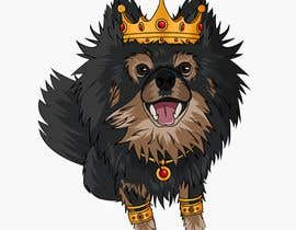 #191 cho Graphic design of a female dog character, with a royalty theme, which will be used as a large graphic on a t-shirt. bởi ZiadSalama5