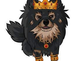 #200 cho Graphic design of a female dog character, with a royalty theme, which will be used as a large graphic on a t-shirt. bởi ZiadSalama5