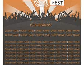 #22 para Poster for a Stand-Up Comedy Festival por shadmansakibsacc