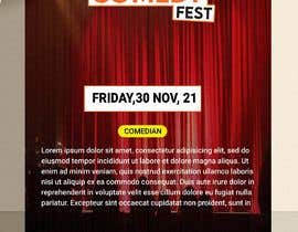 #14 para Poster for a Stand-Up Comedy Festival por mitahmid82