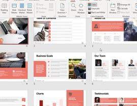 Nro 20 kilpailuun Powerpoint Template Design käyttäjältä Mahmoudahmed101