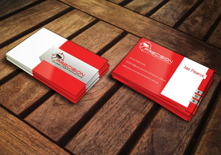 Entry #42 by ghaziaziz for Design some Business Cards for CCTV ...