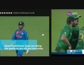 anindyadas7 tarafından Build a promo video for India vs Pak world cup t20 live telecast event for our club için no 7