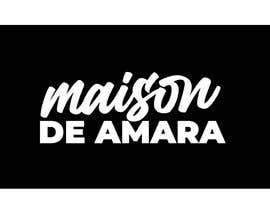 Nro 101 kilpailuun Design a logo - Maison de Amara käyttäjältä nubelo_U6m8YjZg