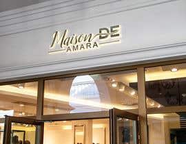Nro 83 kilpailuun Design a logo - Maison de Amara käyttäjältä shetirani3