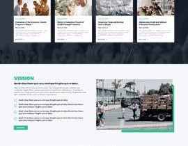 #59 for Website MOCK for a charity organization af nikil02an