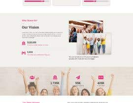 #9 for Website MOCK for a charity organization af Nibraz098