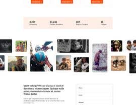 #21 for Website MOCK for a charity organization af ChaYanDee