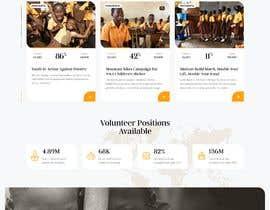 #36 for Website MOCK for a charity organization af webdeveloperAlal