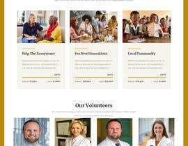 #50 for Website MOCK for a charity organization af smunonymous