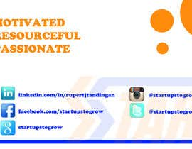 PWind tarafından Design Business Cards for Startups to Grow için no 1