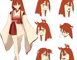 #35 cho Design A Kitsune Character bởi ayamusmad18