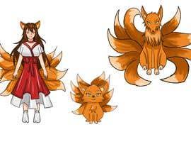 #31 cho Design A Kitsune Character bởi sisisierra