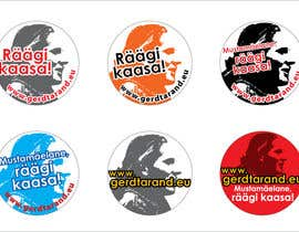 #27 para 5 Button Badge designs for a Personal/Political Blog por meichuen