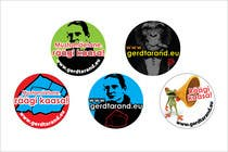 Graphic Design Entri Kontes #24 untuk 5 Button Badge designs for a Personal/Political Blog