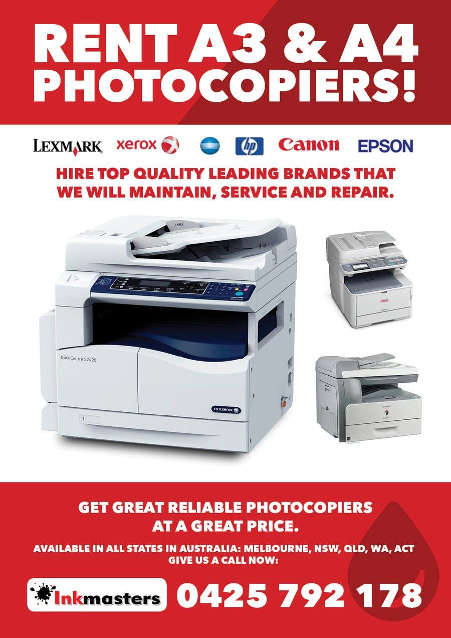 Konkurrenceindlæg #                                        12                                      for                                         Design a Flyer for Photocopier Rentals