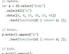 #6 for project regarding javascrpit and D3 in  java af BeeDock