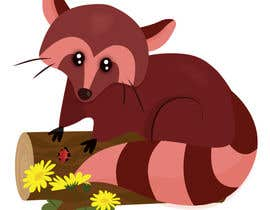 #8 for Design a red panda animal icon for embroidery by nuronuro