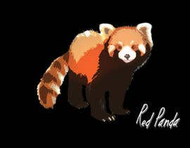 #1 cho Design a red panda animal icon for embroidery bởi denberke
