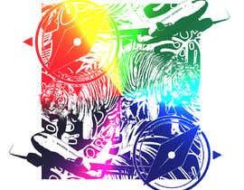 Nro 74 kilpailuun Design a modern abstract illustration for a puzzle käyttäjältä affanfa