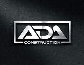 #303 for ADA CONSTRUCTION LOGO af HiraShehzadi01